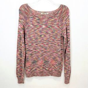 Old Navy Lightweight Knit Rainbow Pattern Sweater